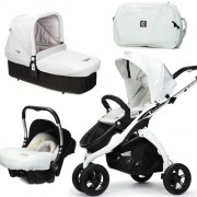 kočík casualplay KUDU 3 white baby 0 plus cot